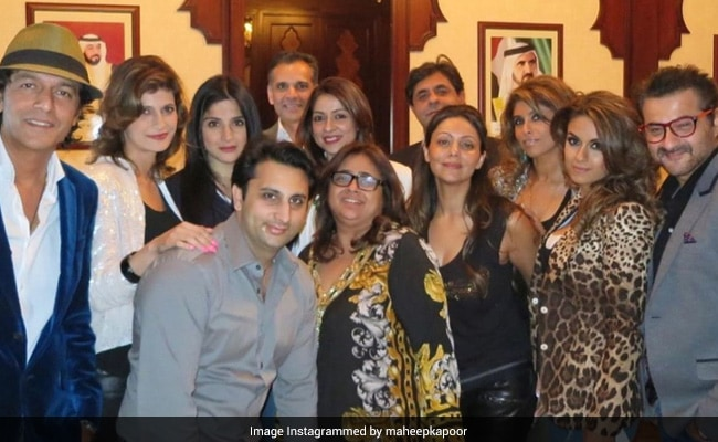Count The Celebs In KKR Fan Maheep Kapoor's Throwback Pic