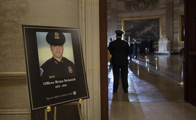 Police Officer In US Capitol Riot Died Of Strokes: Chief Medical Examiner