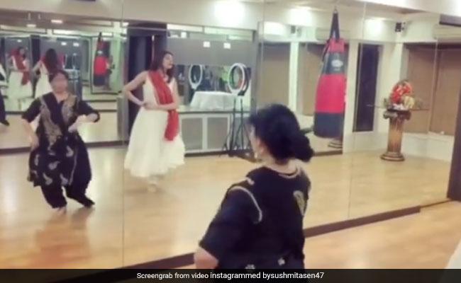 On International Dance Day, Sushmita Sen's Shout Out To Her Teacher