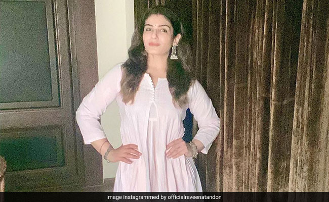 On A 'Hot Summer Afternoon,' Raveena Tandon Gets All Dressed Up Just To...
