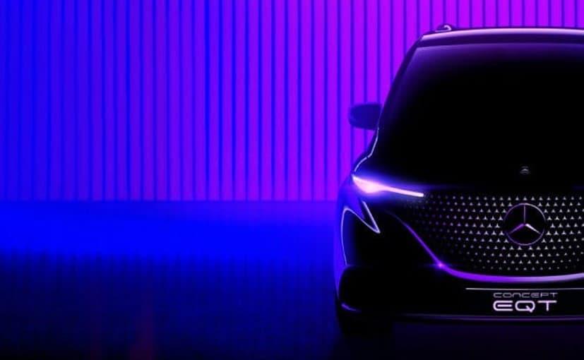 Mercedes-Benz EQT Concept Teased
