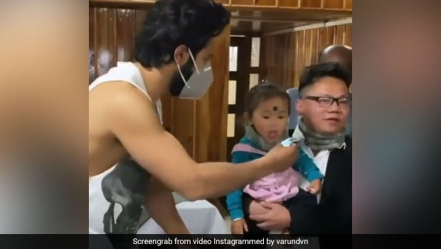 Varun Dhawan Finally Admits To Feeding Cake To This Cute Toddler And We Can't Stop Smiling