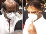 Video : Tamil Nadu Elections: Rajinikanth, Kamal Haasan Cast Votes In Chennai