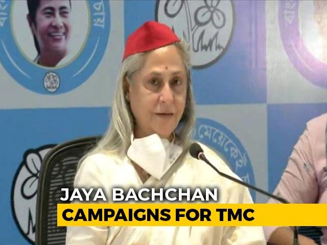 Video : 'A Single Woman Fighting Alone': Jaya Bachchan On Mamata Banerjee