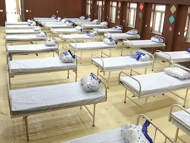 Video : School Turns Into Covid Care Centre As Delhi Battles Covid Spike