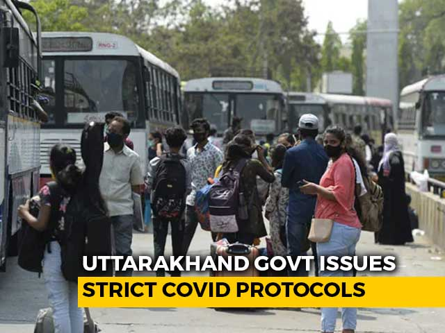 Video : Ahead Of Kumbh, Uttarakhand Says Passengers From 12 States Must Carry Covid Test Report