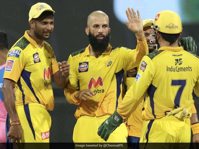CSK vs RR: Rajasthan Royals Suffer Collapse As Moeen Ali, Ravindra Jadeja  Spin Chennai Super Kings To Victory | Cricket News