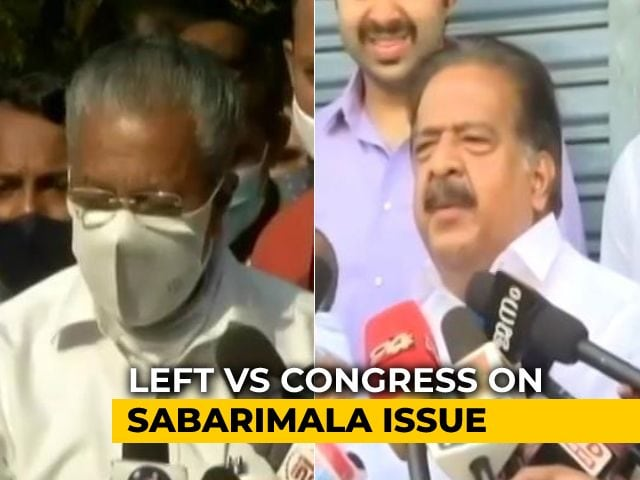 Video : Lord Ayyappa With Us, Says Chief Minister; Sparks Debate As Kerala Votes