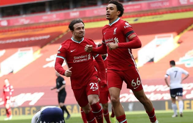 Liverpool Strike Late To End Record Anfield Losing Streak