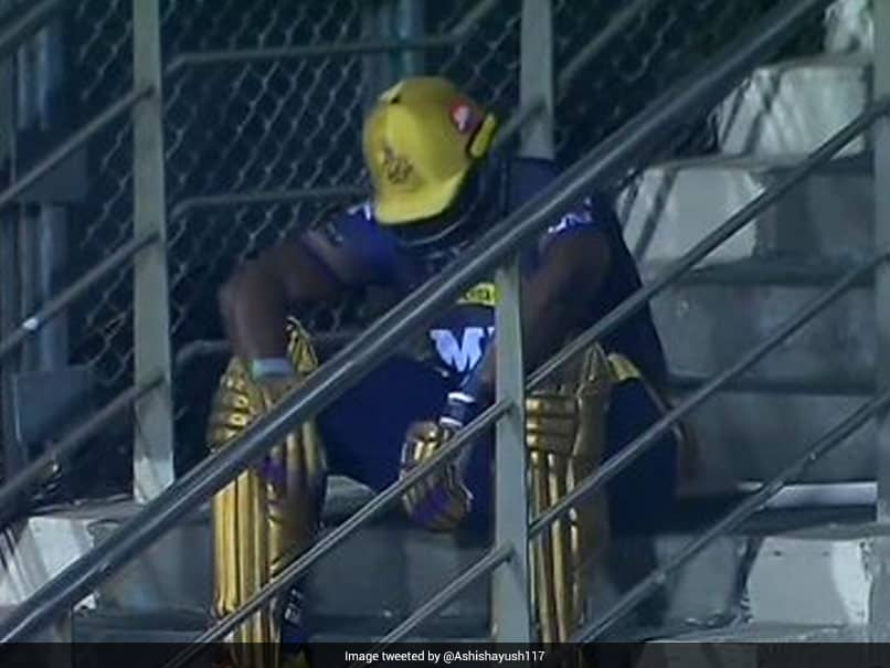 "IPL 2021: Why ""Emotional, Heartbroken"" Andre Russell Sat On Stairs In CSK Loss"