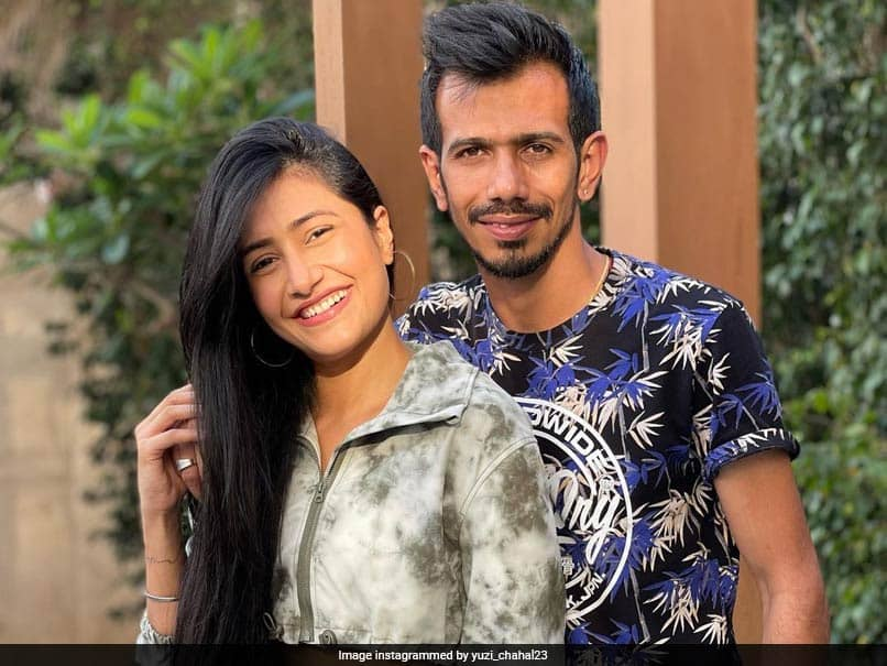 IPL 2021: Yuzvendra Chahal Poses With Wife Dhanashree Verma On Instagram, Chris Gayle Reacts