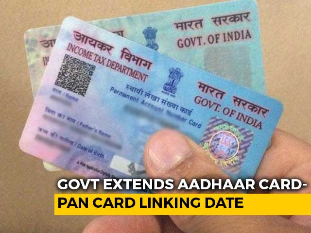 Video : Last Date For Linking Aadhaar Card-PAN Card Extended To June 30