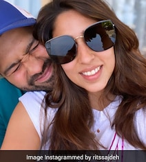 'So Proud Of This Guy': Ritika's Loved Up Post For Rohit Sharma