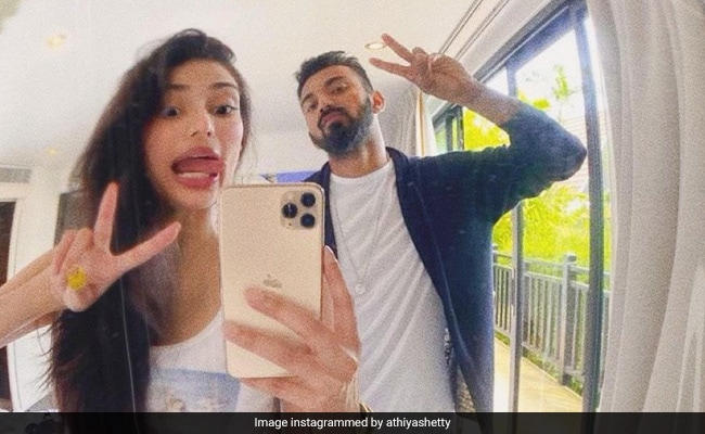 Athiya Shetty And KL Rahul Are Goofing Around In Her Birthday-Special Post For Him. See Pics