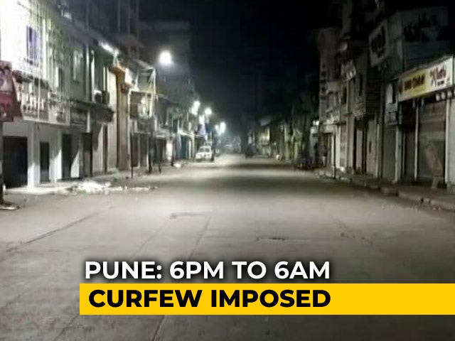Video : Pune Imposes Night Curfew To Control COVID-19 Surge