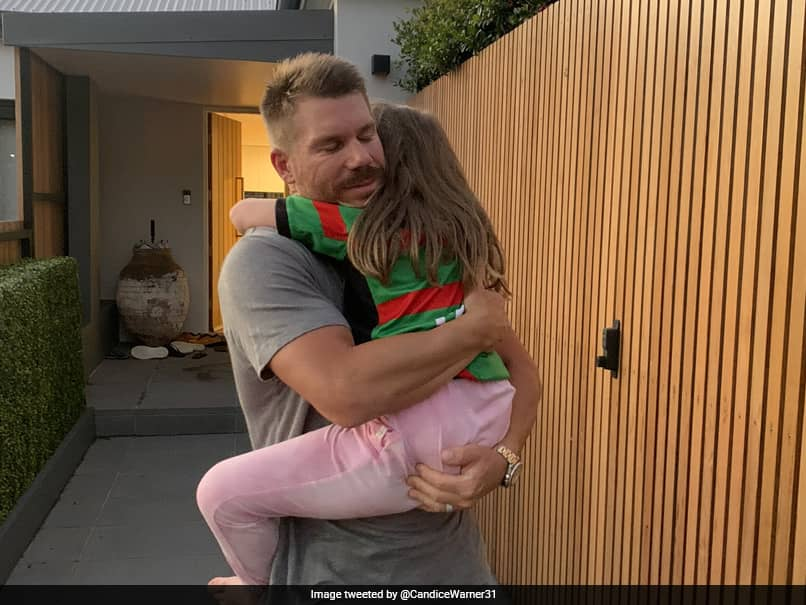 """IPL 2021: David Warner Leaves For IPL, Wife Posts Pictures; SRH Say """"Well Take Good Care Of Him"""""""