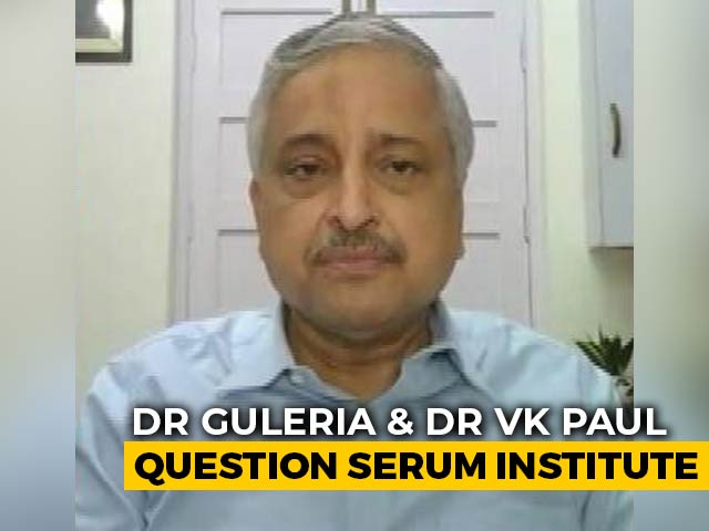 """Video : """"Not Rocket Science..."""": AIIMS Chief On Supply Of Covid Vaccines"""
