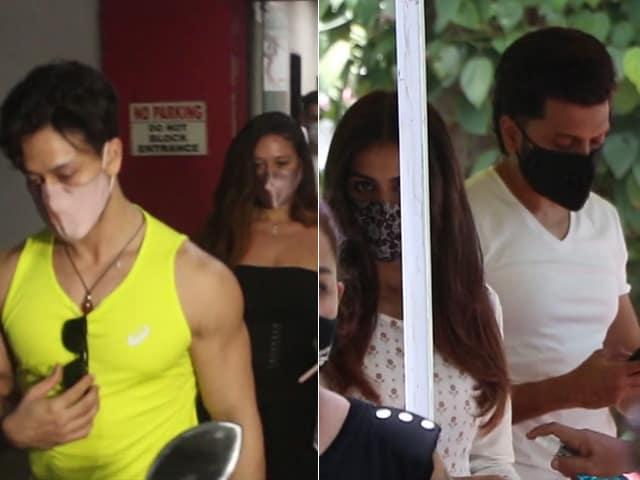 Video : Couple Spotting: Tiger-Disha, Riteish-Genelia