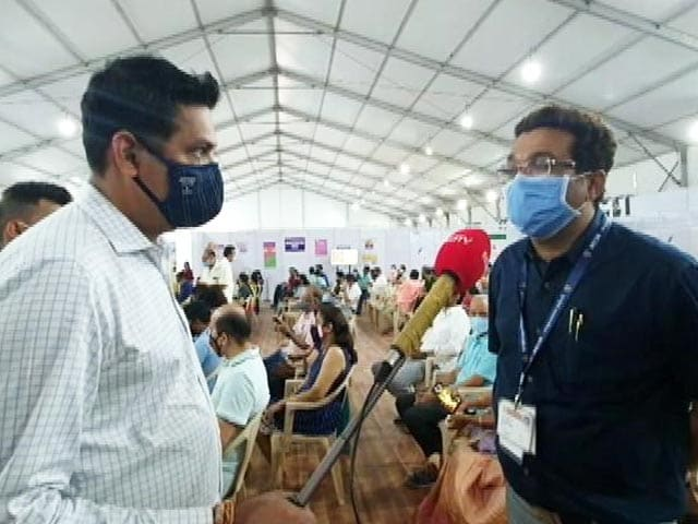 Video : Mumbai Ramps Up Vaccination, Targets One Lakh Jabs A Day