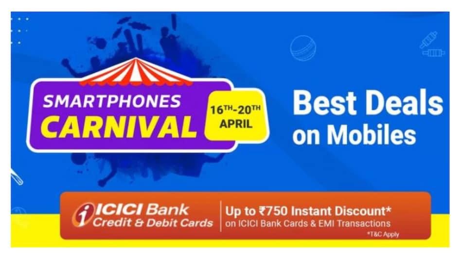 Flipkart Smartphone Carnival सेल शुरू, Realme, Poco, Apple जैसे स्मार्टफोन्स पर बंपर छूट