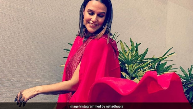 Neha Dhupia Is Driving Away The Monday Blues With A Fruity Indulgence