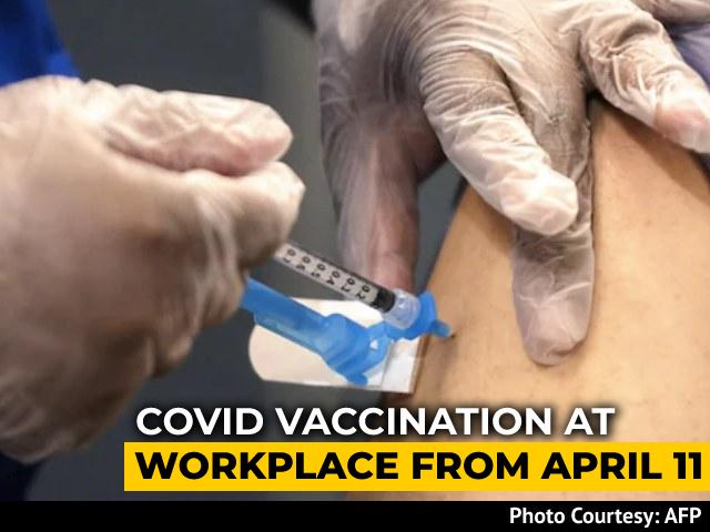 Video : Covid Shots To Be Allowed In Workplaces, States Asked To Prep