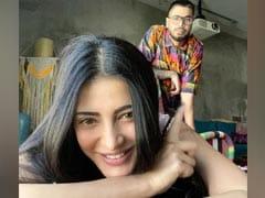 "Meet Shruti Haasan's ""Lockdown Buddies"" - Santanu Hazarika And..."