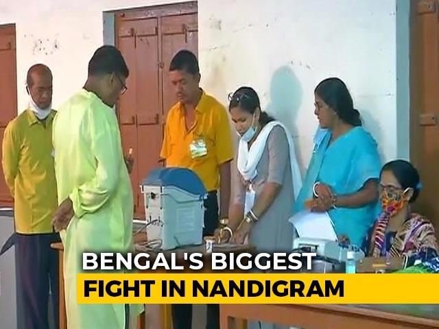 Video : As Bengal Votes, All Eyes On Mamata Banerjee vs Suvendu Adhikari In Nandigram