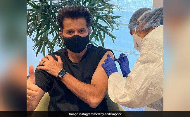 Anil Kapoor Gets His Second COVID-19 Vaccine Shot. Read His Post