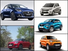 Top 5 Most Fuel Efficient Petrol Automatic Cars Below Rs. 10 Lakh