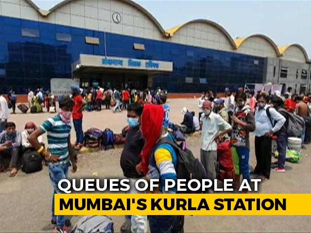 Video : Fearing Lockdown, Migrants Leave Mumbai
