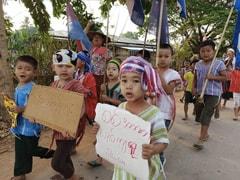Myanmar Military Slammed For Deaths Of Over 40 Children
