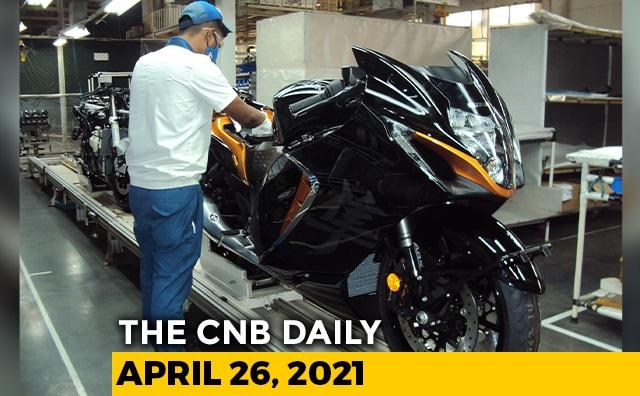 Video : 2021 Suzuki Hayabusa Prices | Jagdish Khattar Death | Alcazar Delayed