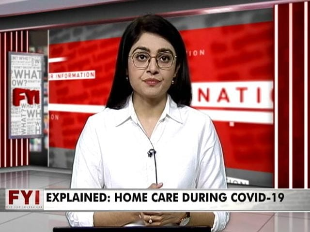 Video : Asymptomatic, Those With Mild Symptoms Can Tackle Covid At Home