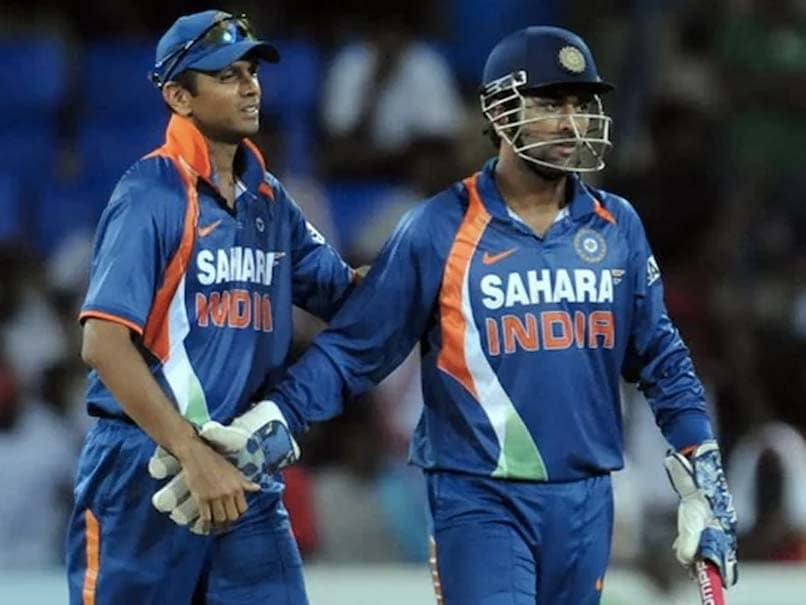 """""""Thats The Way You Play?"""": Virender Sehwag Recalls Rahul Dravid Losing His Cool On MS Dhoni"""