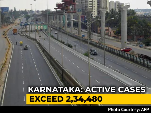 Video : Bengaluru Reports Over 17,000 Covid Cases In Biggest Single-Day Surge