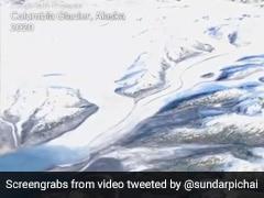 "Sundar Pichai On New Google Earth Feature: ""24 Million Photos, 37 Years"""