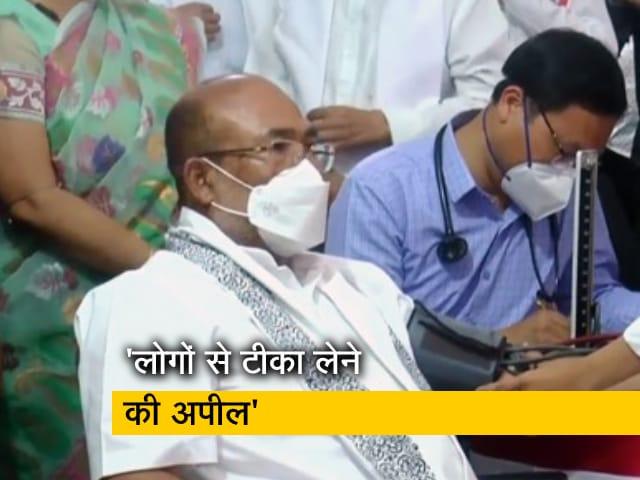 Video : टीका उत्सव: मणिपुर के CM ने ली कोरोना वैक्सीन की पहली खुराक
