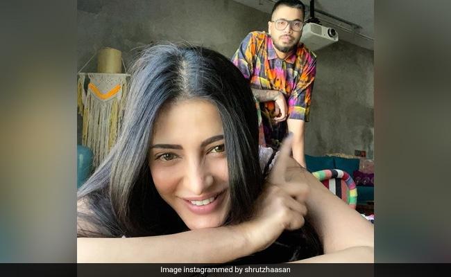 Shruti Haasan Treats Her Assamese Boyfriend To A Tamil Meal Spread
