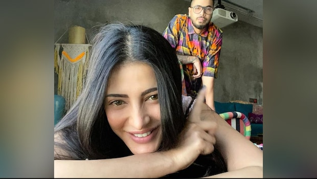 Shruti Haasan's 'Amazing' South Indian Spread Is Drool-Worthy - See Pics