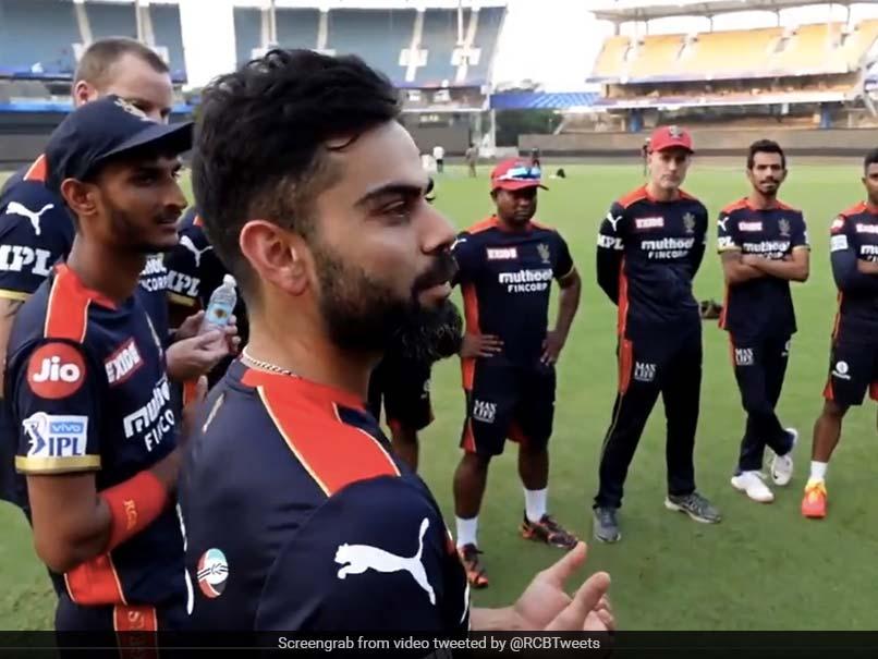 IPL 2021: Virat Kohlis Rallying Cry To His RCB Teammates Ahead Of Tournament Opener. Watch
