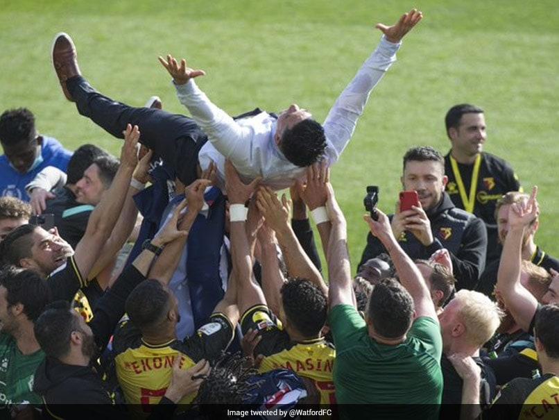 Premier League: Ismaila Sarr Penalty Secures Promotion For Watford