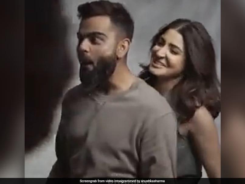 Virat Kohli Reacts Fondly To Anushka Sharmas Playful Instagram Video. Watch