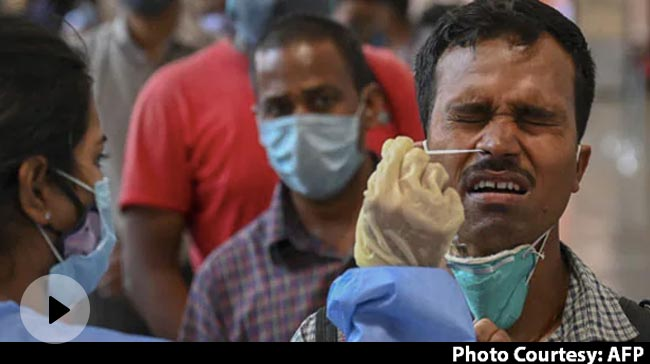 Video | Record 2.34 Lakh Fresh Covid Cases In India, 1,341 Deaths In 24 Hours