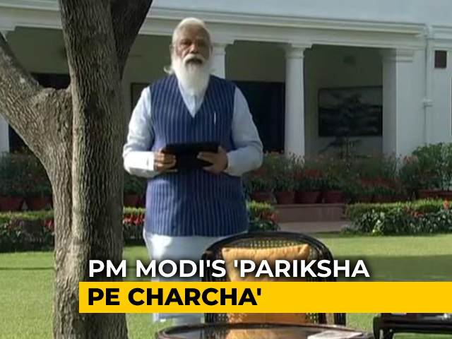"Video : ""We Must Not Add Pressure"", Says PM In 'Pariksha Pe Charcha' With Students"