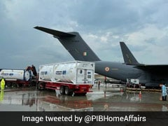 IAF Preparing To Airlift Oxygen Containers From Singapore: Centre