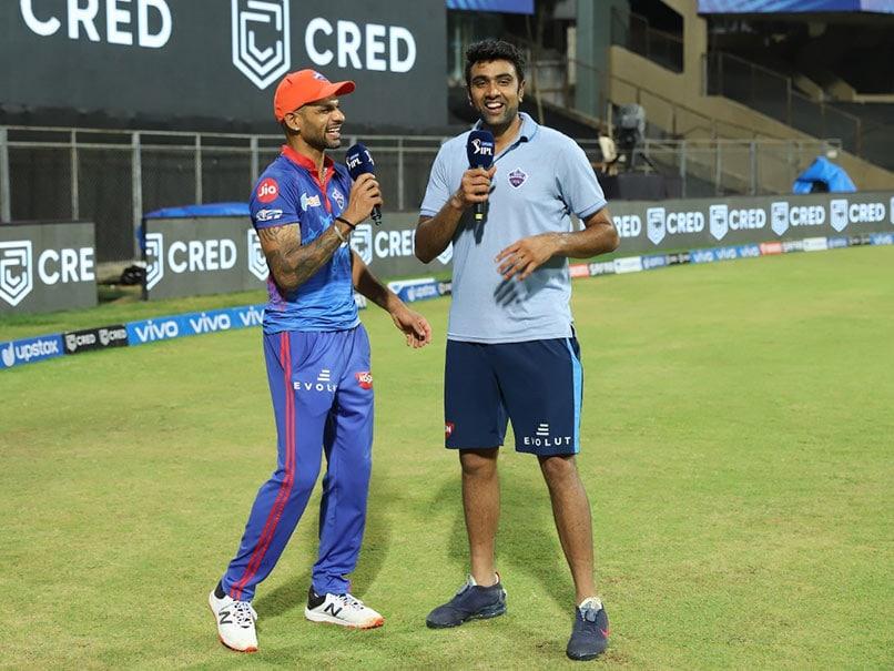 """IPL 2021: """"Laughter Galore"""" As R Ashwin Interviews Shikhar Dhawan. Watch"""