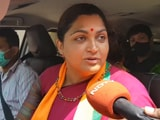 Video : BJP Is My Last Stop, Says Khushbu Sundar