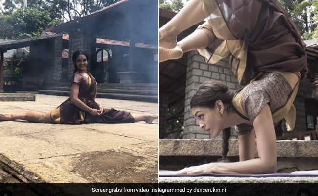 Watch: Splits To Headstands, Dancer Does It All In A 'Well-Draped Saree'