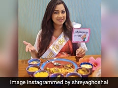 """Pregnant Shreya Ghoshal Shares Pics From """"Surprise Baby Shower"""""""